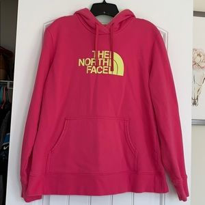 North face hoodie size XL.